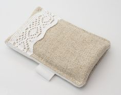 iphone 4 sleeve/ iphone case/ cover slim lace trim by JadenDesign, $18.00    Prroooooobably gonna buy this:)
