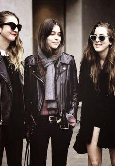 Haim // love them. such great style♥
