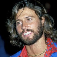 Barry Gibb - what a beautiful guy!  Love him and Bee Gees forever! <3