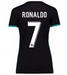 Real Madrid Cristiano Ronaldo 7 Bortatröja Dam 17-18