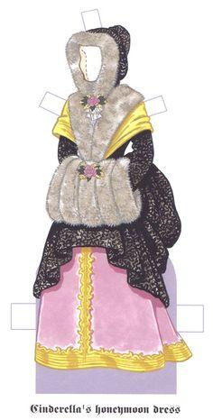 Cinderella Paper Dolls by Tom Tierney