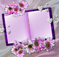 Galaxy Phone Wallpaper, Flower Phone Wallpaper, Flower Picture Frames, Flower Frame, Flower Border Clipart, Wedding Invitation Posters, Happy Birthday Template, Book And Frame, Happy Birthday Celebration