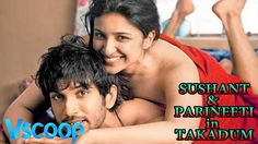 Behind The Sets Sushant Singh & Parineeti Chopra In Takadum #VSCOOP