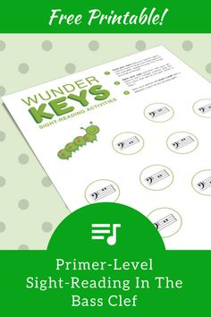 Boost Bass Clef Note Reading With This Primer-Level Sight-Reading Activity Teach Piano Today Happy Piano, Bass Clef Notes, Piano Games, Reading Notes, Preschool Music, Reading Practice, Piano Teaching, Music Theory, Piano Lessons