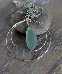 Sea Glass Necklace want Mallory to make for me for my birthday!