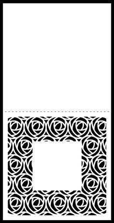 Mix & Match Cards - background 1 cut file card -http://www.birdscards.com/free-digital-cut-files/square-cards/#