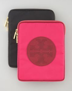 Billie E-Tablet Sleeve by Tory Burch at Neiman Marcus.
