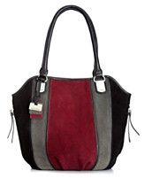 Tignanello Handbag, Tres Suede Shopper