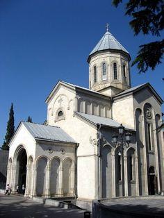 Qashveti church, Rustaveli St., Tbilisi