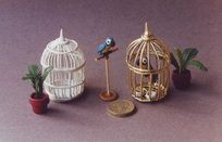 Tutorial:  Miniature Birdcages