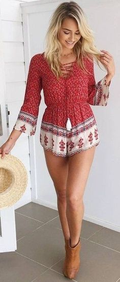 #muraboutique #label #outfitideas |  Pretty Cute Playsuit
