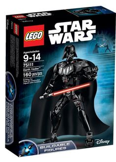 This is awesome! Will be on a lot of Christmas lists this year for sure! Star Wars Buildable Figures Darth Vader