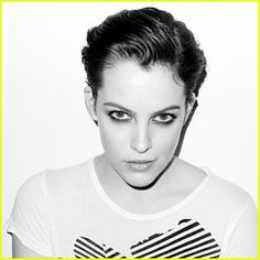 Riley Keough, Elvis's grand daughter, by Terry Richardson.