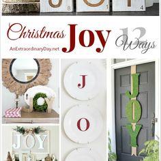 12 Ways to Spread Christmas Joy Around Your House :: Decorating Ideas