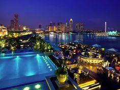 Lantern Rooftop Bar, The Fullerton Bay Hotel, Singapore                                                                                                                                                      More