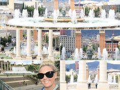 Magic Fountain of Montjuïc - Highlights of Barcelona – The Girls Who Wander Magic Fountain, The Girl Who, Marina Bay Sands, Wander, New York Skyline, Highlights, Barcelona, Spain, Girls