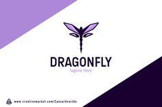 DragonFly Logo Template  @creativework247