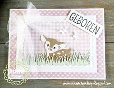 Marianne Design Blog: Baby Hertje