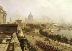 The Embankment,  John O'Connor 1874