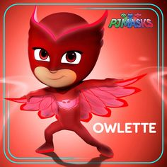 When a high-flying hero is needed, Amaya transforms into Owlette! #owlette #pjmasks #disneyjunior