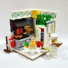 Chef de Cuisine #legoarchitecture