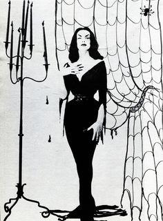The elegant Vampira