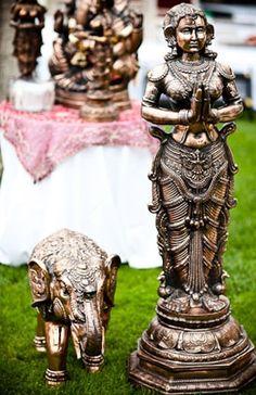 Decoracion para una boda Hindú