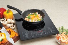The electromagentic burner and auto-off features of the Induction Cooker make it a safe cooking option Kitchen Tools, Kitchen Gadgets, Small Appliances, Kitchen Appliances, Snack Recipes, Snacks, Home Hardware, Cooker