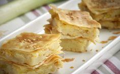 """Μία συνταγή για μια εύκολη και γρήγορη πίτα. Η πατατόπιτα με πράσο είναι ιδιαίτερα νόστιμη. Για περισσότερη γεύση μπορείτε να προσθέσετε στη γεύση άνηθο ή μάραθο. Υλικά συνταγής 1 πακέτο χωριάτικο φύλλο 1 μεγάλο πράσο ψιλοκομμένο 1 κύβο (knorr """"σπιτικός"""") ζωμός λαχανικών 1 συσκευασία πουρές πατάτας ή 2 πατάτες βρασμένες πολτοποιημένες σε πουρέ [*] 1/2 …"""