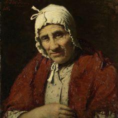 Old Jewish Woman, Meijer Isaäc de Haan, 1880 - Rijksmuseum