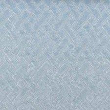 Sky Blue Geometric Decorator Fabric by Duralee