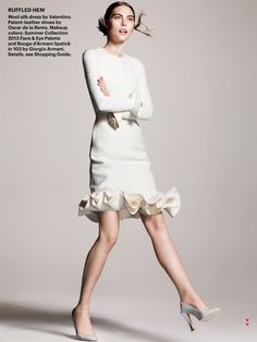 ripple effect: catherine mcneil by terry tsiolis for allure june 2013 | visual optimism; fashion editorials, shows, campaigns & more!