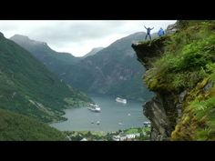 Geirangerfjord, Norway in HD - YouTube -- 6:46 minute video -- lovely -- the fjords are so gorgeous.