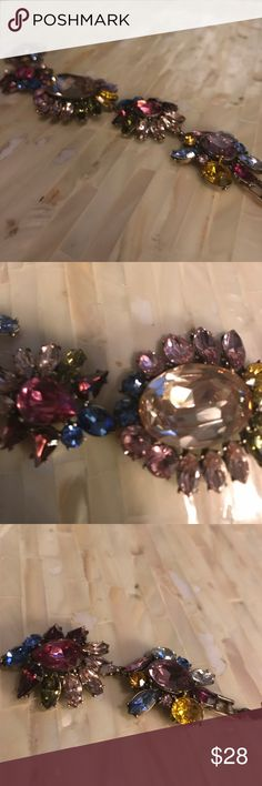 Ann Taylor multicolored jeweled bracelet worn once Ann Taylor multicolored jeweled bracelet worn once Jewelry Bracelets