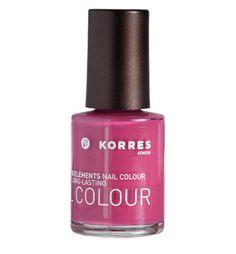 Korres Nail Colour Polish 20 Pink Azalea with Myrrh Oligoelements | eBay