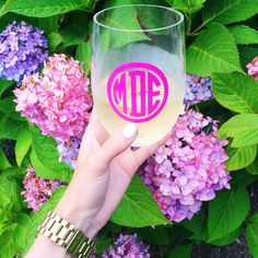 If it moves, monogram it!