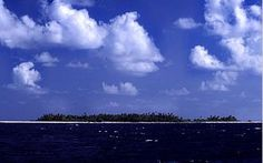 Tuvalu is sinking.