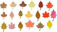 Thankful tree leaves printable