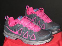 Womens NIKE AIR ALVORD 10 Running Shoes Sz12 Anthracite/FrBerry/Blue/Cool Gray #womensshoes #FitnessFashion