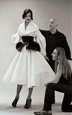 * John Galliano & Stephen Jones chez Dior