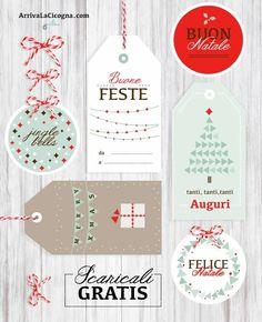 Biglietti di auguri di Natale da stampare gratis per voi!