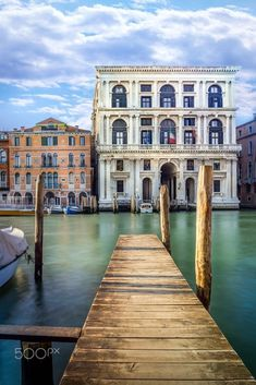 Grand Canal in Venice, Italy by Maciej Czekajewski on 500px