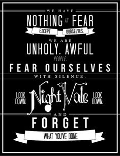 Night vale! I can not say how much I love this qoute :)