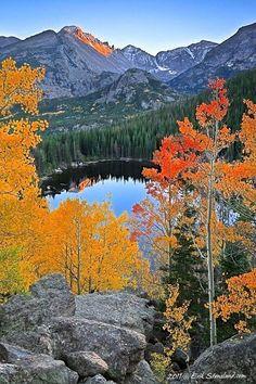 Bear Lake in Rocky Mountain National Park, CO. Photo by Erik Stensland. www.ochomesbyjeff.com #orangecountyrealtor #luxury #ilovecolorado