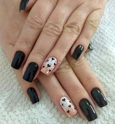 New French Manicure Designs For Short Nails Valentines Day Ideas Colorful Nail Designs, Nail Art Designs, Nails Design, Heart Nails, Manicure And Pedicure, Manicure Ideas, Creative Nails, Holiday Nails, French Nails