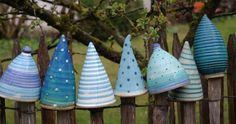 Post stool, fence stool – ceramic workshop Baumgartner - All For Garden Ceramic Clay, Ceramic Pottery, Ceramic Stool, Clay Projects, Clay Crafts, Insect Hotel, Garden Balls, Ceramic Workshop, Interior Garden