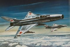 Roy Cross - MiG 21