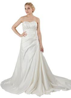 *Maillsa A-line Satin Strapless Wedding Dress(22, White) Maillsa,http://www.amazon.com/dp/B00EAIN7U8/ref=cm_sw_r_pi_dp_cGi5sb03MY34ZEHC