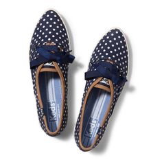 Pointer Dot - Crisp, clean and to the point—style should always be so easy. http://www.keds.com/store/SiteController/keds/pointerdot/5-179230/stockNumber/WF50145/skuId/***5********WF50145*M090/showDefaultOption/true/searched/true/productdetails?searchText=pointer+dot
