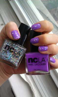 Great Nail Polish Duo! NCLA NAILS